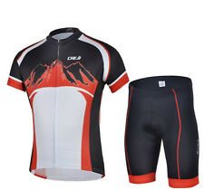 Bicycle Clothing Bike Sport Suit Cycling Clothing Jersey + (Bib) Shorts S-3XL