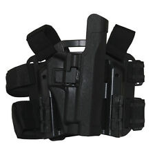 Tactical Right Drop Leg Thigh Duty Pistol Holster for Sig 220/226/228/229 P226
