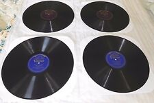 Lot of 4 Vintage Victor 78 rpm Records -1  & 2  Sided MacFarlane  Victor Herbert
