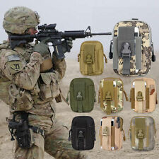 Military Army Duty Fanny Pack Tactical Molle Utility Waist Bag Belt Pocket Pouch
