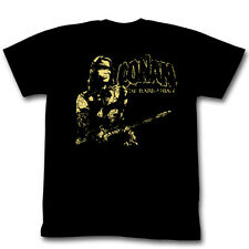 Conan The Barbarian The Man! Distressed Movie Logo Licensed Adult Shirt S-XXL