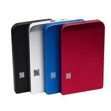 "USB 3.0 /2.0 Sata 2.5"" Hard Disk Drive HDD SSD External Enclosure Case Cable Box"