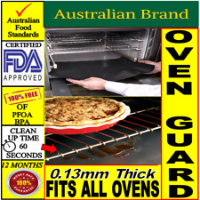 Oven Guard Teflon Liner & Reusable Non Stick Baking Mat +Money Back Guarantee