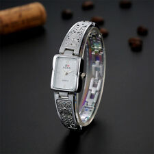 Fashion Stainless Steel Bracelet Bangle Quartz Womens Watches Analog Wrist Watch