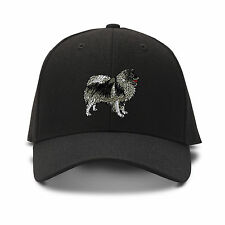 Akita Dog Embroidery Embroidered Adjustable Hat Baseball Cap