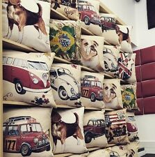 TOP QUALITY REMOVEABLE CUSHION COVER IN RETRO,VINTAGE,TAPESTRY, RANGE (MUST BUY)