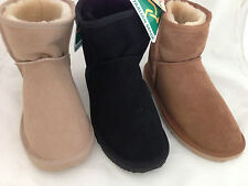 AUSTRALIAN MADE GENUINE SHEEPSKIN ADULT SHORT MINI   AIC UGG BOOTS 3 COLOURS