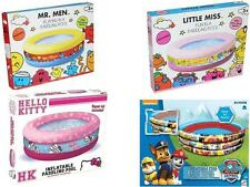 Childrens Toddlers Kids Boys & Girls Paddling Swimming Pools Summer Outdoor Fun