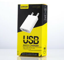 JOYROOM JR-L103 1 Port 1.0A USB AC Wall Charger Adapter Travel For All USB Cable