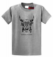 Buffalo Soldier T Shirt Dreadlock Rasta Hippie Stoner Weed Music Tee Shirt