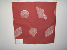 Lee Jofa GP and J Baker fabric remnant for craft novelty embroidered Beachcomber