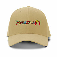 Fireman Design Logo Embroidery Embroidered Adjustable Hat Baseball Cap