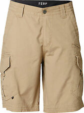 Fox Racing Mens Dark Khaki Slambozo Cargo Shorts