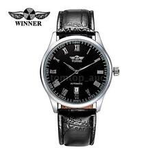 WINNER Mechanical Watch Luxury Mens Automatic Windup Date Sport Wrist Watch C2S9