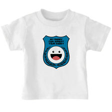 Blue Police Badge My Daddy Can Arrest Daddy Toddler Kid T-shirt Tee 6mo Thru 7t