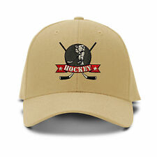 Hockey  Embroidery Embroidered Adjustable Hat Baseball Cap
