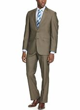 Kenneth Cole Unlisted Modern Fit Brown Textured Two Button Suit