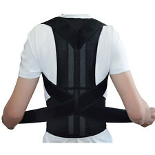 New Adjustable Posture Back Support Corrector Brace Shoulder Band Belt