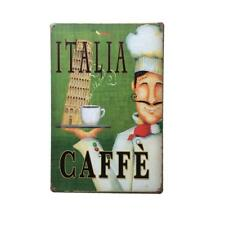 Metal Tin Sign Wall Art Poster Home Hall Cafe Bar Pub COFFEE Theme Plaque Decor