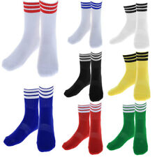 Profeesinal Football Soccer Tennis Volleyball Stripe Short Socks Sweat Absorbing