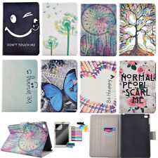 PU Tablet Wallet Case for Apple iPad Samsung Magnetic Leather Stand Flip Cover