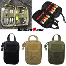 1000D Tactical Military Molle Waist Bag Tools Accessory Pouch Outdoor Camping