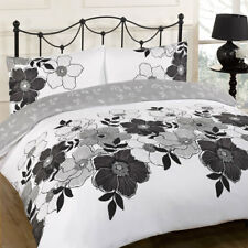 Pollyanna Black Duvet Bedding Set - Single-Double-King Size-Super King Size