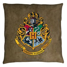 Harry Potter Hogwarts Crest Officially Licensed Decorative Throw Pillow