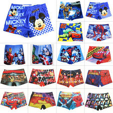 Boys Kids Cartoon Character Swim Shorts Swimming Trunks Summer Beach Swimwear