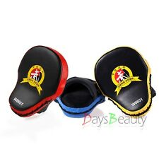 New Single Muay Thai MMA Boxing Kick Punch Pads Hand Target Focus Training Mitts