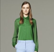 NEW! 3.1 Phillip Lim for Target Long Sleeve Blouse Green Size S