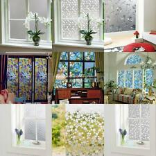 1 x Various Reusable Frosted Frost Frosting Dandelion Glass Window Film Sticker