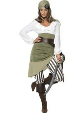 SALE! Adult Pirate Shipmate Sweetie Ladies Fancy Dress Costume Hen Party Outfit