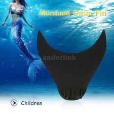 Mermaid Swim Fin Diving Monofin Swimming Foot Flipper for Adult Children AL A6W1