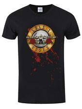 Guns N' Roses Bullet Logo Men's Black GNR T-shirt