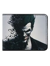 Batman Arkham Origins The Joker Face Bi-Fold Wallet
