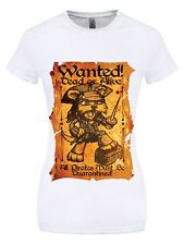 Wanted Dead Or Alive Women's White T-shirt