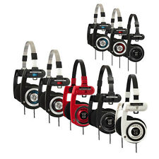Koss Porta Pro PortaPro Classic Headphones with case VARIOUS COLOURS BRAND NEW!