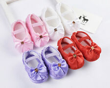 Bowknot Toddler Baby girls Sandal Soft Sole Infants Walking Shoes Prewalker