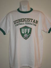 UZBEKISTAN Football Federation Fan's ringer t-shirt