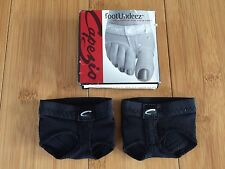 Brand New original Capezio Adult Footundeez H07 Black Small Or medium