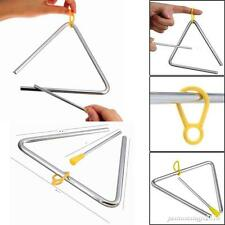 Musical Triangle Metal Children Percussion and  Beater Instrument Kids Music Toy