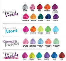 Chromasilk Pravana Vivids/ Jewels/ Neons/ Pastels/ Locked-In