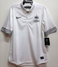 BNWT FRANCE LES BLUES AWAY EURO 2012 FOOTBALL SOCCER JERSEY TRIKOT MAILLOT
