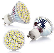 GU10 5W Lamp Bulb Power Spot Light 60 LED White 220V NEW High 3528 SMD 6500K