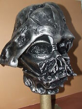 STAR WARS FORCE AWAKENS LIFE SIZE 1.1 MELTED DARTH VADER DISPLAY HELMET PROP