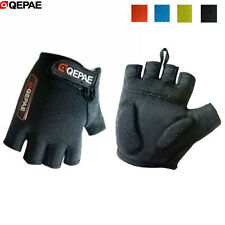 QEPAE Riding Cycling Glove Bike Bicycle Ciclismo Half Finger Glove Sports Gloves