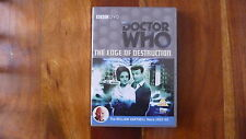 BBC : DOCTOR WHO  THE EDGE OF DESTRUCTION DVD (WILLIAM HARTNELL) FAST/FREE POST.