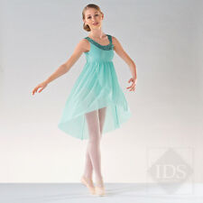 IN STOCK Elegant Mint Green Sequin Sparkle Lyrical Dress Dance Costume