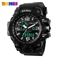 Men's Waterproof Sport Digital Analog Alarm Date Stopwatch LED Wrist Watch Y0T4